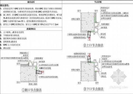 别墅及多层住宅项目防水构造与节点大样图集(56页)