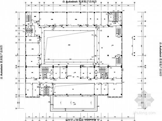 [湖北]多层办公楼给排水消防施工图