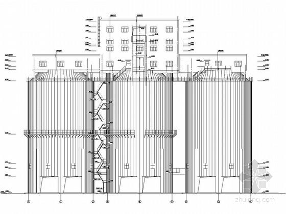 18米筒仓结构施工图