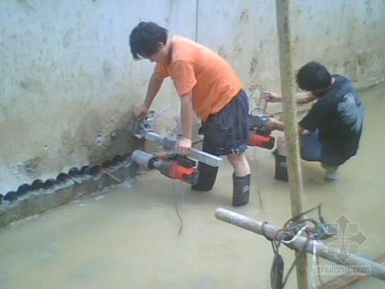 [山西]危房改造地下室基坑管井降水及回灌井施工方案