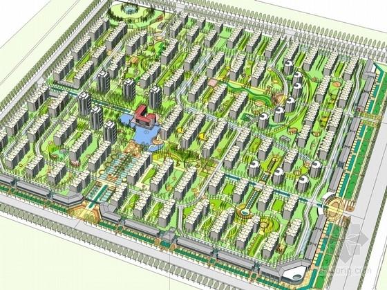[山东]新古典风格高层住宅区规划及单体设计方案文本(知名设计院)