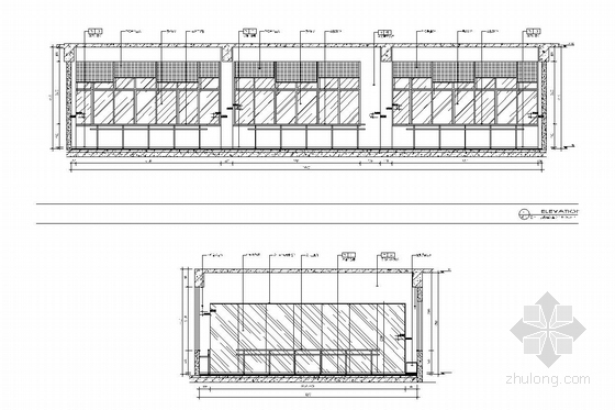 [江苏]1省级重点实验中学艺术中心室内施工图 舞蹈教室