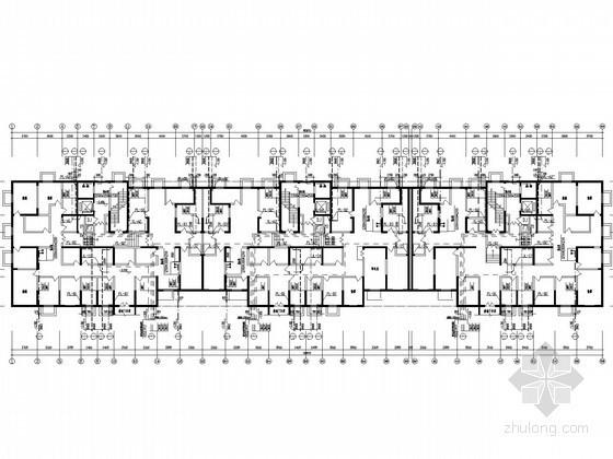 [山西]3.9万平高层商住建筑给排水施工图