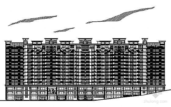 [重慶]某高層住宅小區規劃設計方案圖