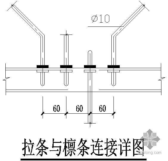 某钢结构大样节点构造详图(三)