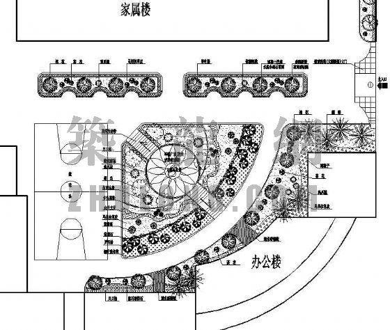 小区规划平面图