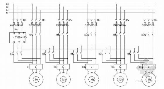 HPS2D软起动器控制原理图