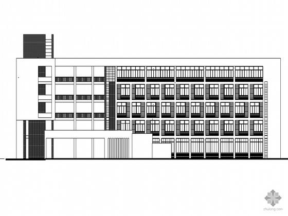 [河源]某工业技术学校建筑群(主体建筑及全部配套建筑)建筑施工套图