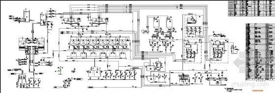中水处理工艺系统图