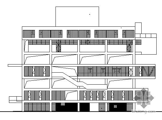 [浙江]某七层办公楼设计方案