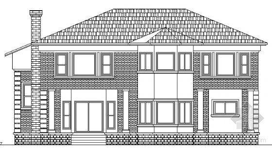 某欧式独立别墅方案设计(四个)