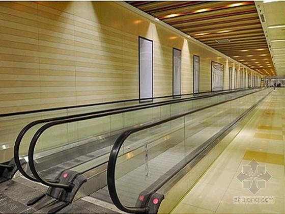 地铁站出入口地下通道延长段工程施工图CAD