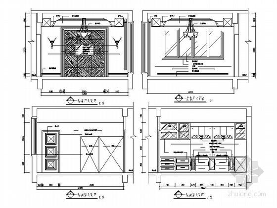 家居厨房立面图