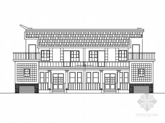 某二層新農村獨院式磚混住宅設計方案