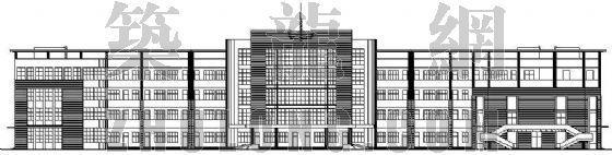 某中学教学楼建筑设计方案