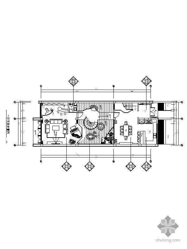 欧式风格二层别墅施工图(含效果)