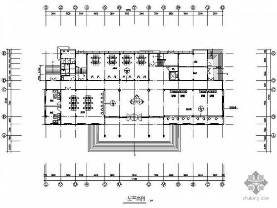 某社保办公楼装修施工图(含效果)