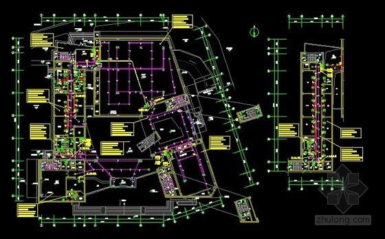 [浙江]大型博物馆强电系统施工图纸