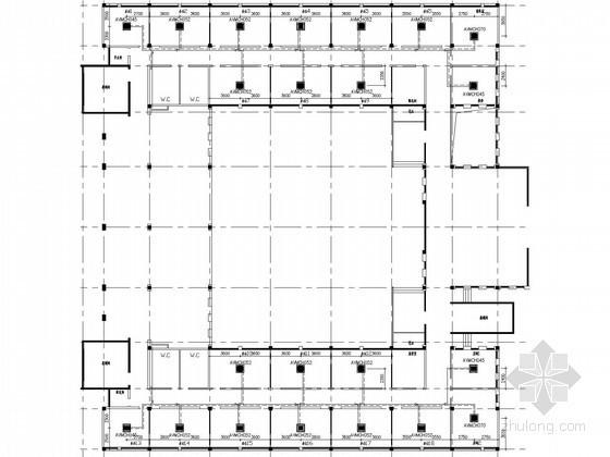 四层行政办公楼空调系统设计施工图