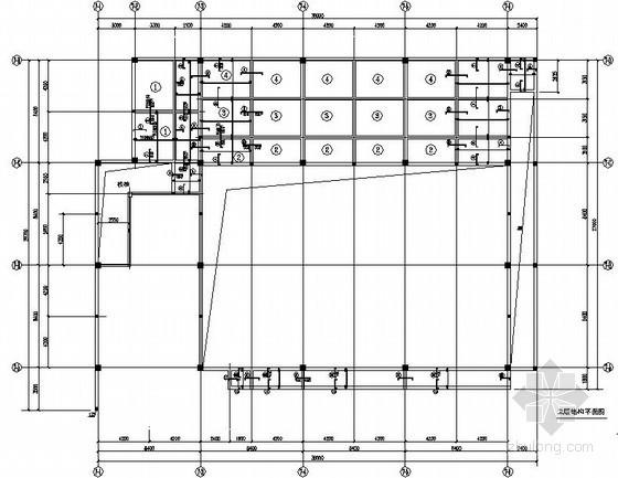 [湖北]框架结构国际酒店会议中心结构施工图(三层 墩基础)