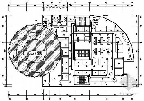 [南通]某公司室内装修工程电气图纸