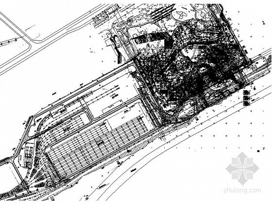 [重庆]某小区示范住宅建筑规划总平面图(含效果图)