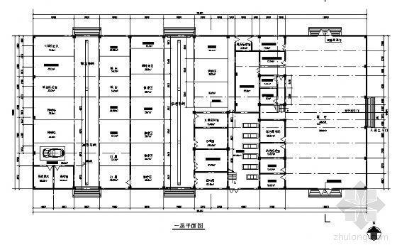现代汽车某展示中心建筑方案图-3