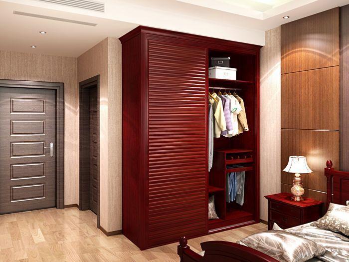 时尚整体衣柜,小户型卧室整体衣柜怎么选择