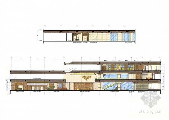 [广东]全球连锁豪华欧式风格商务酒店室内设计方案