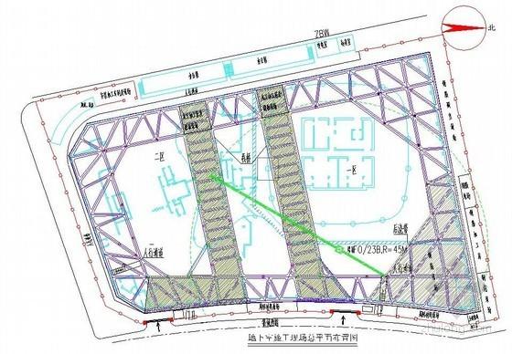 [上海]框筒结构超高层办公楼施工组织设计(平面布置图、中建)