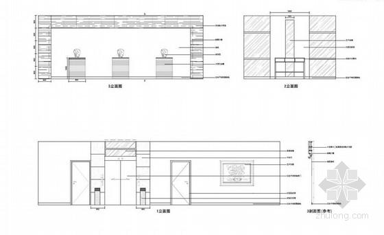 [大连]世界最高档之一汽车品牌现代4S店室内概念方案图大堂立面图