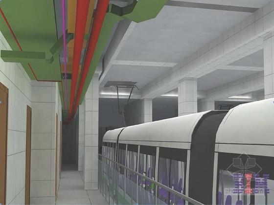 地铁车站设备安装工程及装修施组设计(投标 318页)