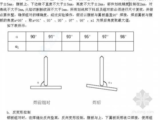 钢结构工程安装焊接拼装制作施工工艺汇总