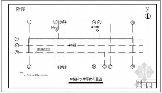 [辽宁]居民楼深基坑降水设计及施工工艺