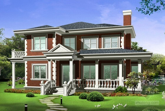别墅外脚手架及支模架专项成本测算实例(标后)