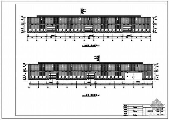 重庆某公司新建钢结构厂房竣工图