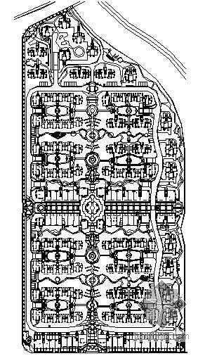 [杭州]小区3区小园景观设计施工图