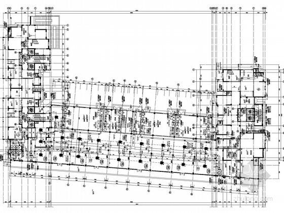 [福建]高层住宅项目空调及通风排烟施工图(大院设计 含配电室)