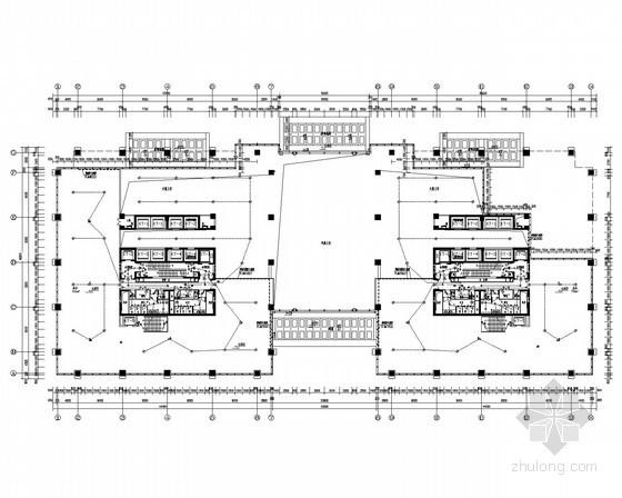 [四川]高层甲级写字楼强弱电施工图120张(甲级设计院 系统全面)