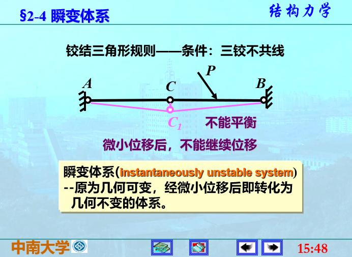 结构力学李廉锟版-平面体系的机动分析_8