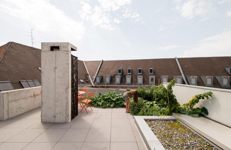 法国斯特拉斯堡办公室与住宅建筑-5