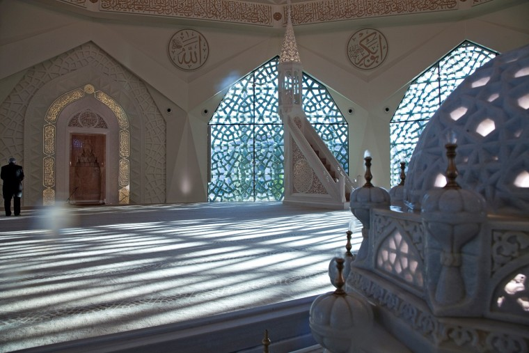 土耳其马尔马拉大学神学系清真寺-4