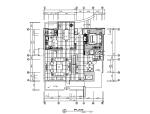 [北京]全套现代简约别墅设计CAD施工图(含效果图)
