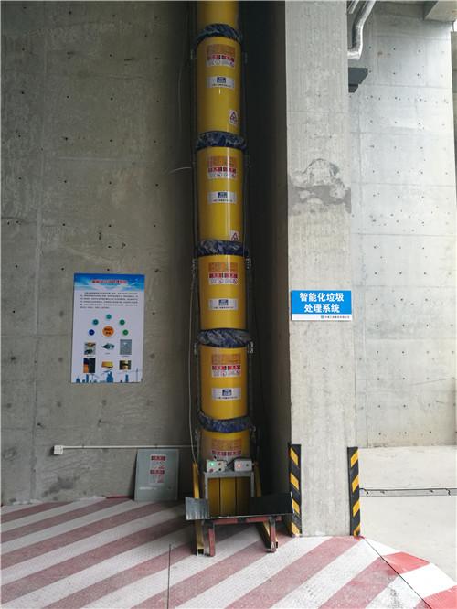 分享一下建筑垃圾怎么快速清运---建筑垃圾垂直输送通道