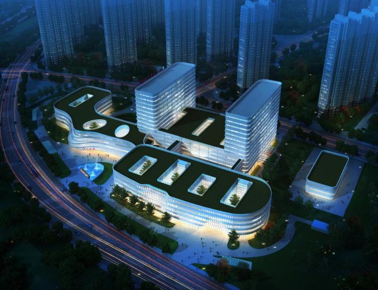 [北京]某人民医院建筑规划及方案设计(PDF+84页)