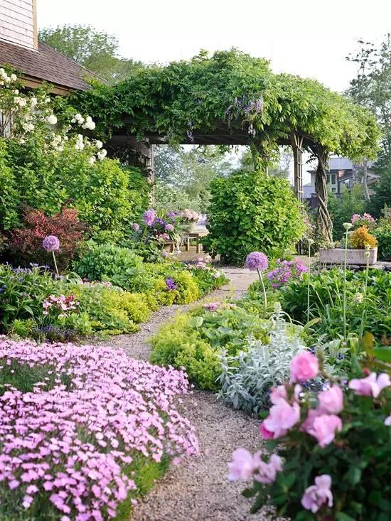 花园驻新颜,景观色彩搭配_25