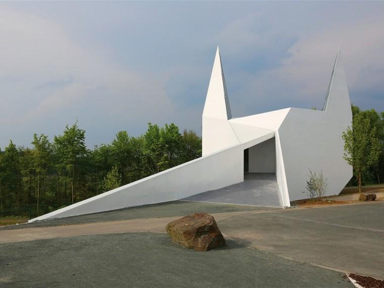 德国西格兰白色乡村教堂