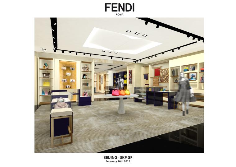 奢华品FENDI设计施工图(附效果图+新理念设计手册+物料表)-名师联 (2)