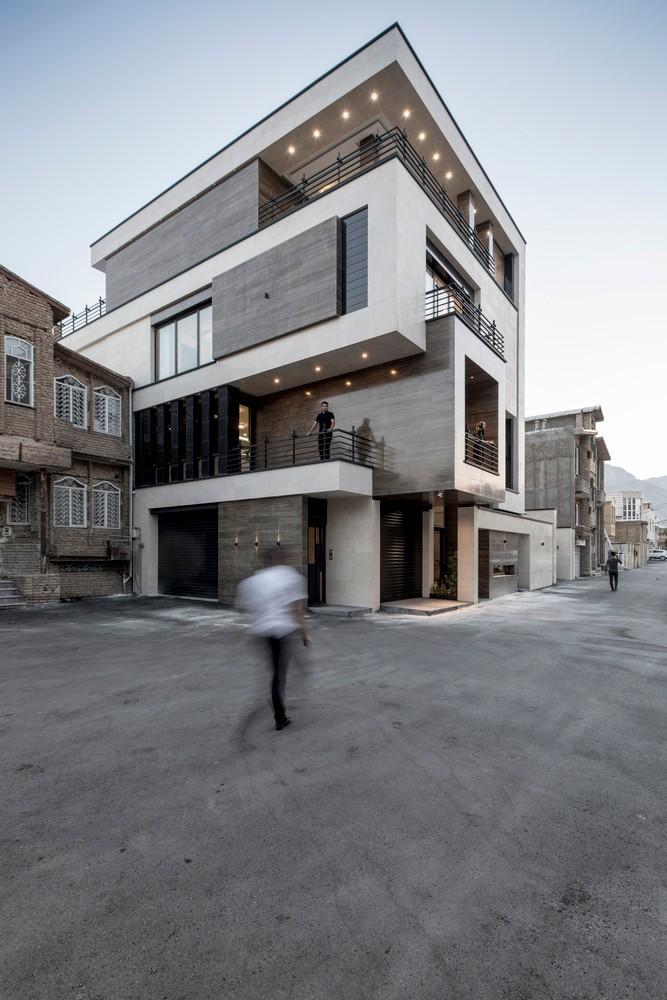 追溯古城印象,伊朗峭壁边的住宅