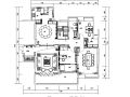 新中式会所茶室设计施工图(附效果图)